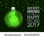 merry christmas and happy new... | Shutterstock .eps vector #541426945
