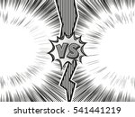 versus letter background.... | Shutterstock .eps vector #541441219