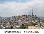 overview las penas over... | Shutterstock . vector #541462507