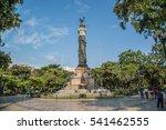 Fountain In Parque Centenario ...