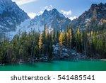 colchuck lake  enchantments  wa | Shutterstock . vector #541485541