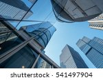 skyscrapers from a low angle... | Shutterstock . vector #541497904