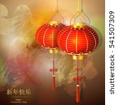 chinese  festive traditional...   Shutterstock .eps vector #541507309