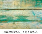green weathered wooden wall... | Shutterstock . vector #541512661