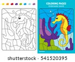 Underwater World Coloring Page...