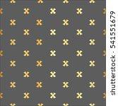 X Cross Geometric Pattern....