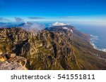 cape town  south africa. the... | Shutterstock . vector #541551811