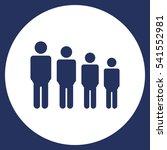 people icon vector flat design... | Shutterstock .eps vector #541552981