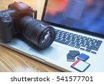 digital photography workstation.... | Shutterstock . vector #541577701