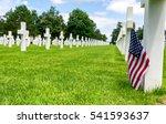 American War Cemetery At Omaha...