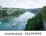 Rainbow Bridge In Niagara River