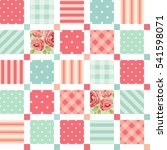Cute Seamless Vintage Pattern...