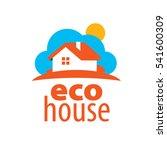 vector logo house | Shutterstock .eps vector #541600309