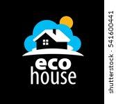 vector logo house | Shutterstock .eps vector #541600441