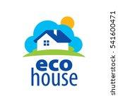 vector logo house | Shutterstock .eps vector #541600471