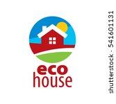 vector logo house   Shutterstock .eps vector #541601131