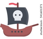 ship icon | Shutterstock .eps vector #541601371
