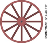 wheel icon | Shutterstock .eps vector #541601449
