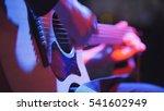 musician in night club  ... | Shutterstock . vector #541602949