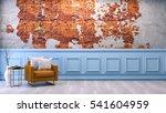 modern loft interior    living... | Shutterstock . vector #541604959