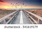 endless jetty with an arrow... | Shutterstock . vector #541619179
