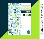 medicine health care brochure...   Shutterstock .eps vector #541620649