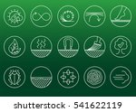 wood properties icons. vector... | Shutterstock .eps vector #541622119