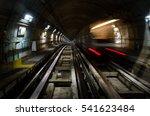Metro Subway Of Turin  Italy ...