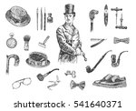 victorian era collection ... | Shutterstock .eps vector #541640371