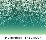 falling snow on blue green sky  ... | Shutterstock .eps vector #541650037