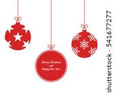 merry christmas and happy new... | Shutterstock .eps vector #541677277