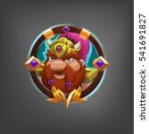 cartoon avatar character dwarf...