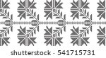 pattern of black and white rose ... | Shutterstock .eps vector #541715731