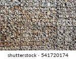 gabion wall | Shutterstock . vector #541720174