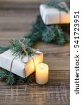 christmas background. christmas ... | Shutterstock . vector #541723951