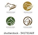 horse logo template vector | Shutterstock .eps vector #541731469