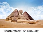 Sphinx Egypt Sphinx With...