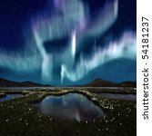 The Northern Light Over The...