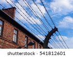 Barbed Wire Barrier With...