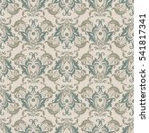 seamless vintage background.... | Shutterstock .eps vector #541817341