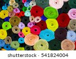 Colorful Material Fabric Rolls...