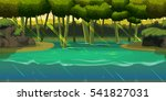 underwater background landscape ...