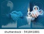 start up business and...   Shutterstock . vector #541841881