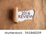Small photo of 2016 review uncovered