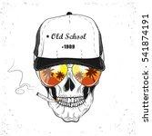skull. vector illustration | Shutterstock .eps vector #541874191