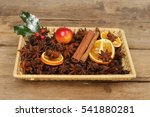 Christmas Spice Potpourri In A...