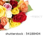 Bunch Of Multi Colored Roses...