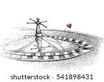roulette | Shutterstock .eps vector #541898431