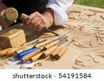 Traditional Craftsman Carving...