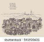 Seoul Skyline  South Korea ...